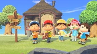 El mando adaptativo de Xbox permite a una jugadora discapacitada jugar a Animal Crossing New Horizons