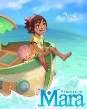 Carátula de Summer in Mara - PS4