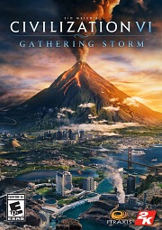 Carátula de Civilization VI: Gathering Storm - PC