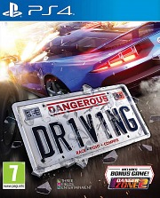 Carátula de Dangerous Driving - PS4