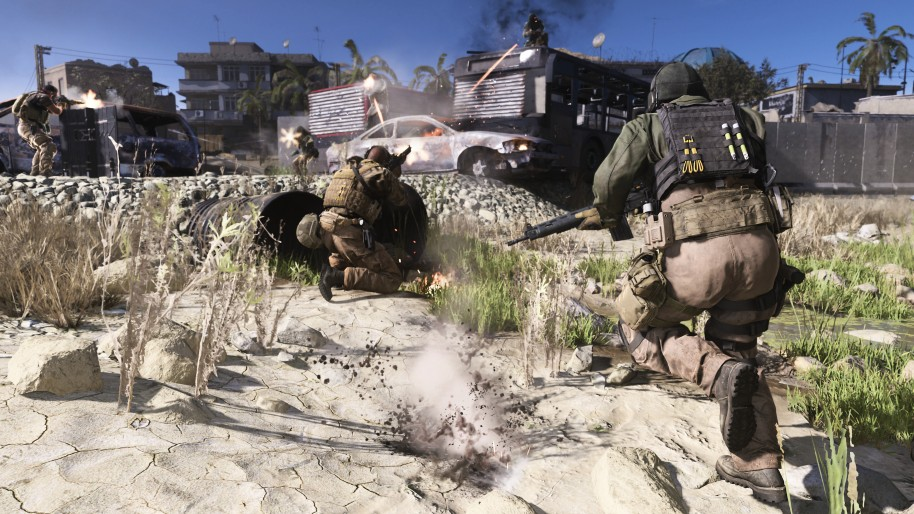 Call of Duty Modern Warfare: Call of Duty: Modern Warfare, un multijugador abierto y contundente