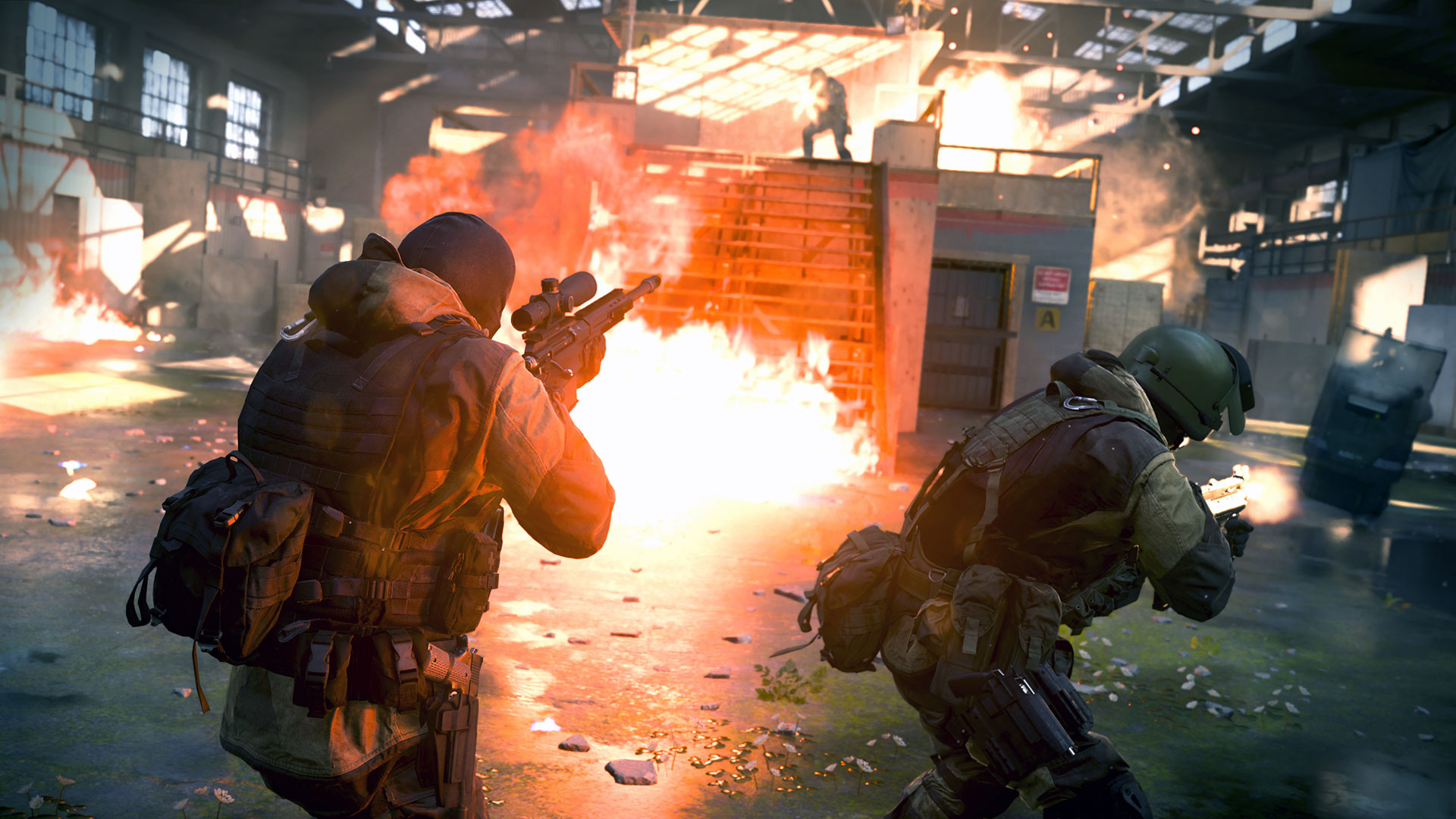 Modern Warfare presenta su espectacular trailer del modo multiplayer — Call of Duty