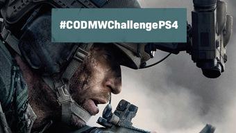 ¡Segundo desafío #CODMWChallengePS4 con Call of Duty y PS4!