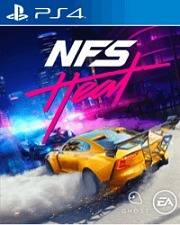Carátula de Need for Speed Heat - PS4