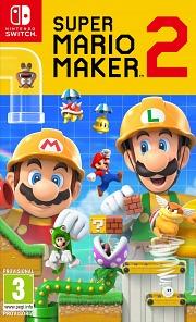 Carátula de Super Mario Maker 2 - Nintendo Switch