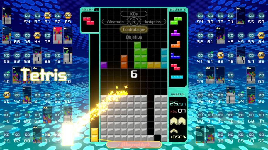 Tetris 99 análisis