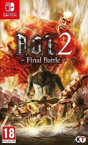 Carátula de Attack on Titan 2: Final Battle - Nintendo Switch