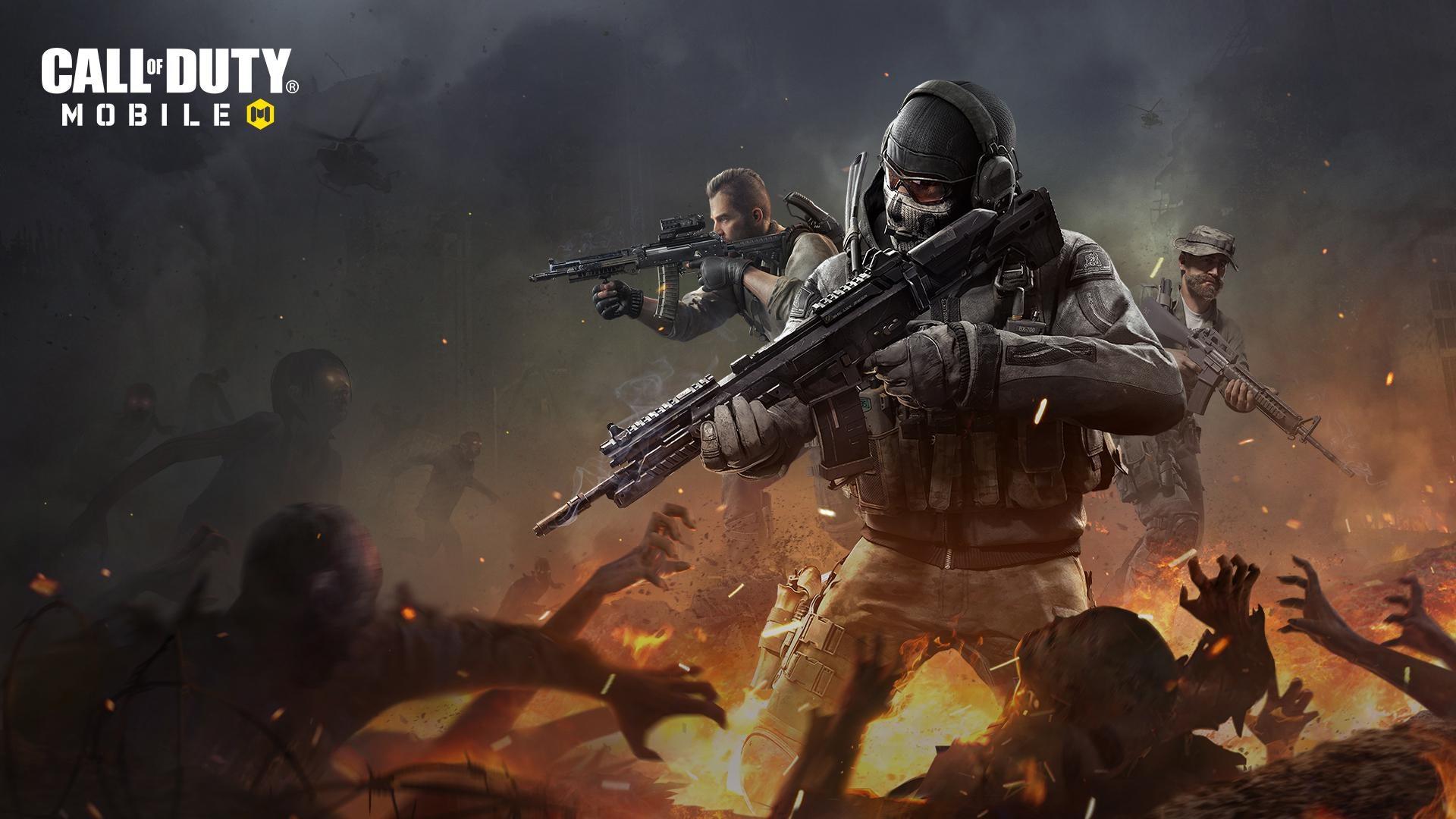Las hordas de zombis llegarán pronto a Call of Duty: Mobile