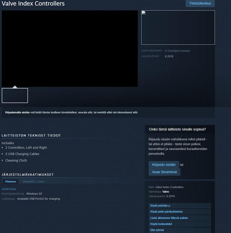 Imagen de Valve Index