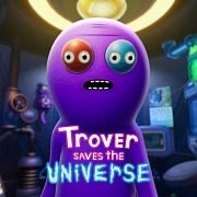 Carátula de Trover Saves the Universe - PC