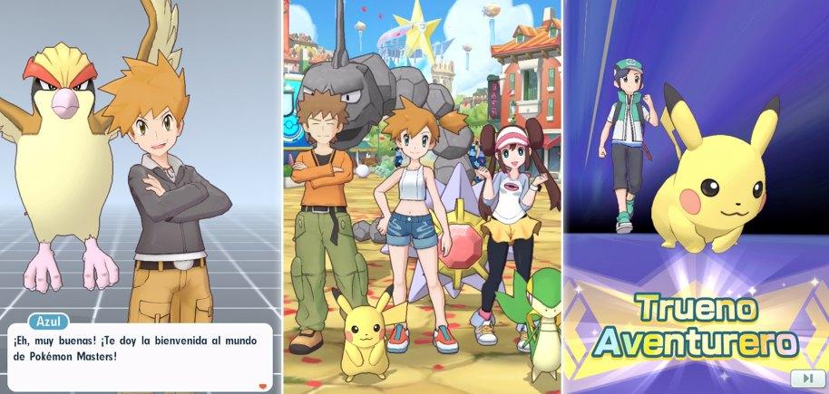 Pokémon Masters análisis