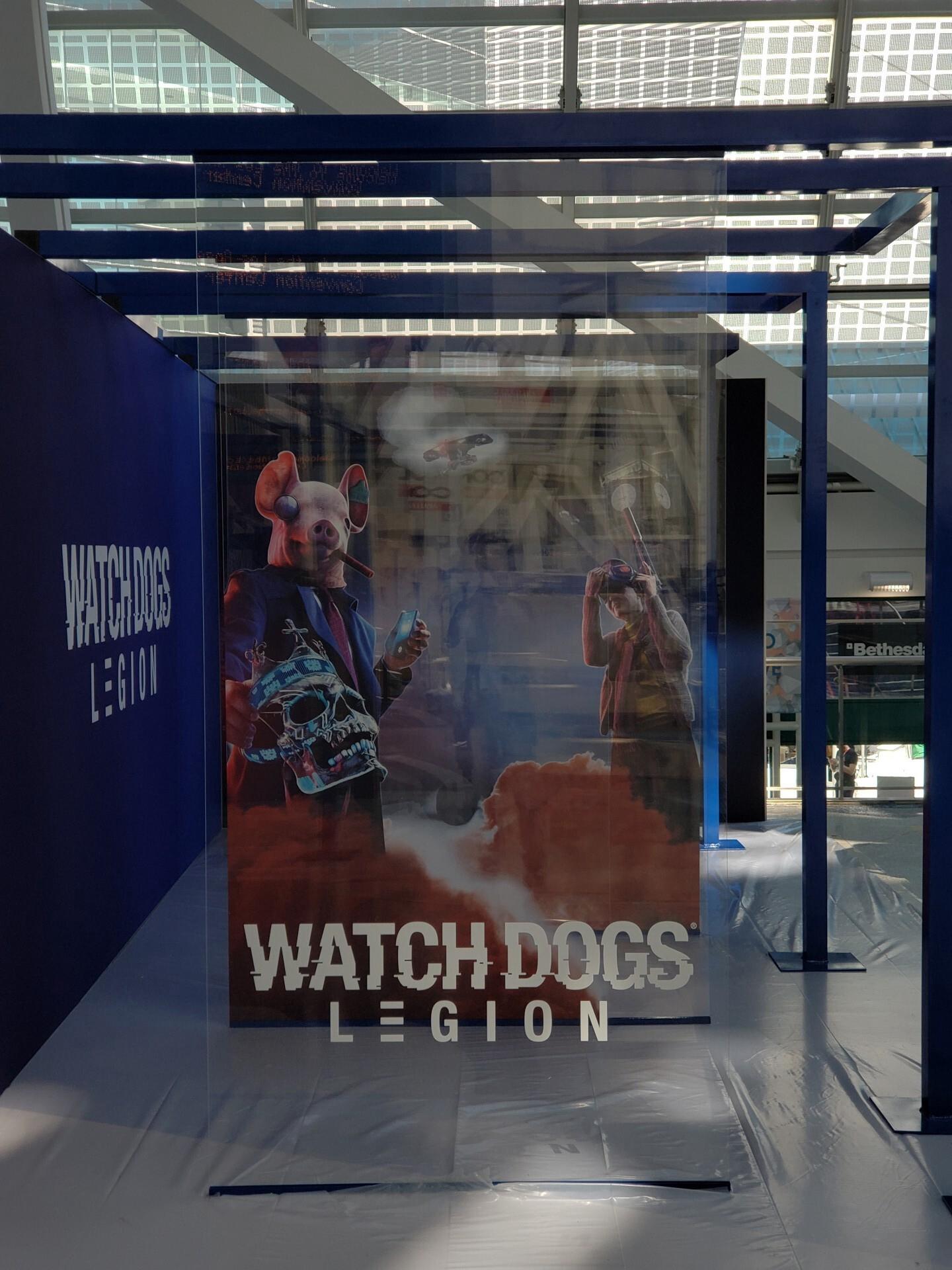 Watch Dogs Legion ve filtrado su primer cartel promocional en el E3 2019