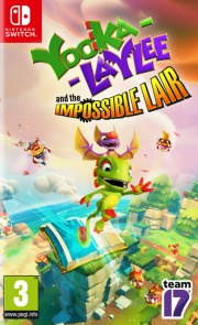 Carátula de Yooka-Laylee and the Impossible Lair - Nintendo Switch