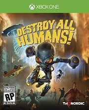 Carátula de Destroy All Humans! - Xbox One