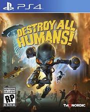 Carátula de Destroy All Humans! - PS4