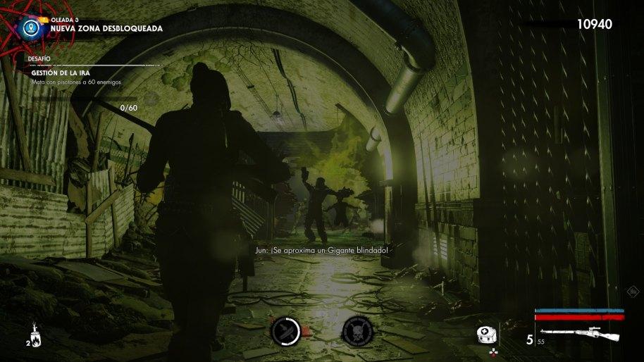 Zombie Army 4 Dead War análisis