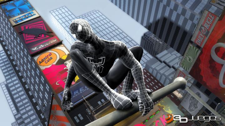 Imgenes de SpiderMan 3 para PS3  3DJuegos