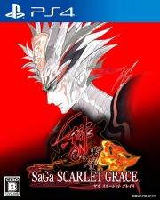 Carátula de SaGa Scarlet Grace Ambitions - PS4