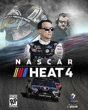 Carátula de NASCAR Heat 4 - PS4