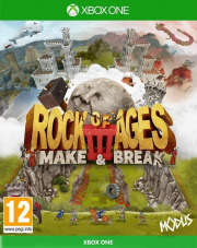 Carátula de Rock of Ages 3: Make & Break - Xbox One