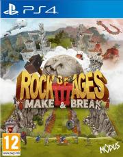 Carátula de Rock of Ages 3: Make & Break - PS4
