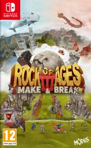 Carátula de Rock of Ages 3: Make & Break - Nintendo Switch