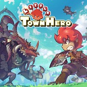 Carátula de Little Town Hero - Nintendo Switch