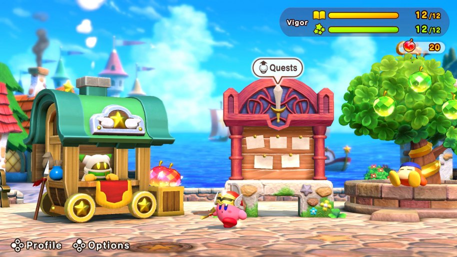 Super Kirby Clash análisis