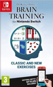 Carátula de Brain Training del Dr. Kawashima - Nintendo Switch
