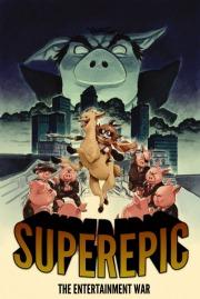 Carátula de SuperEpic: The Entertainment War - PC