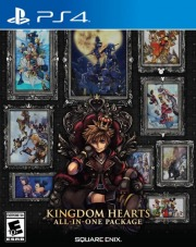 Carátula de Kingdom Hearts All-In-One Package - PS4