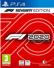 Carátula de F1 2020 - PS4