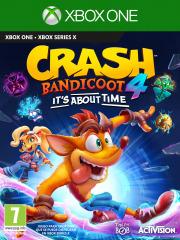 Carátula de Crash Bandicoot 4: It's About Time - Xbox One