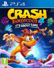 Carátula de Crash Bandicoot 4: It's About Time - PS4