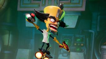 El Dr. Neo Cortex protagoniza la nueva estatua exclusiva con luces led de Crash Bandicoot