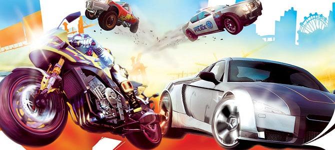Imagen de Burnout Paradise, último título de la saga