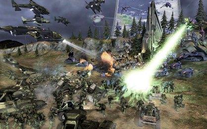 Halo Wars: Halo Wars: Primer contacto