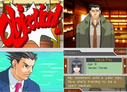 Phoenix Wright Ace Attorney DS