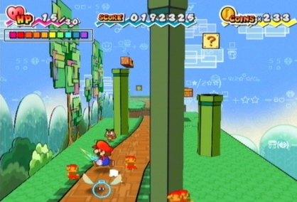 Super Paper Mario análisis