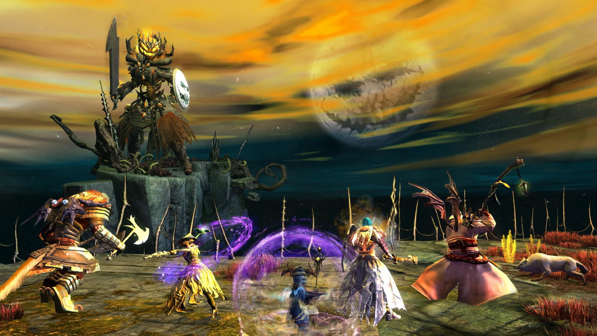Guild Wars 2 presenta La sombra del Rey Loco, su evento especial de Halloween