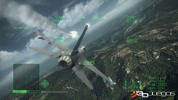 Análisis de Ace Combat 6 Fires of Liberation para Xbox 360