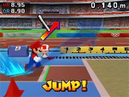 Mario y Sonic Juegos Olímpicos DS