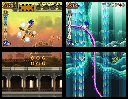 Sonic Rush Adventure: Sonic Rush Adventure: Impresiones E3