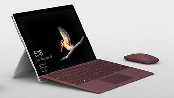 La Surface Go de Microsoft tiene 10 pulgadas y cuesta 429 euros