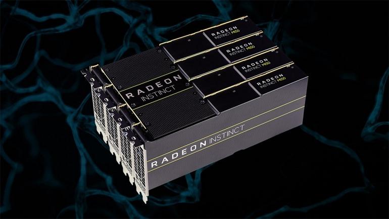 Las gráficas destinadas al mercado profesional fueron las primeras Vega de 7nm y hasta el anuncio de la Radeon VII no se esperaban fuera de ese sector.