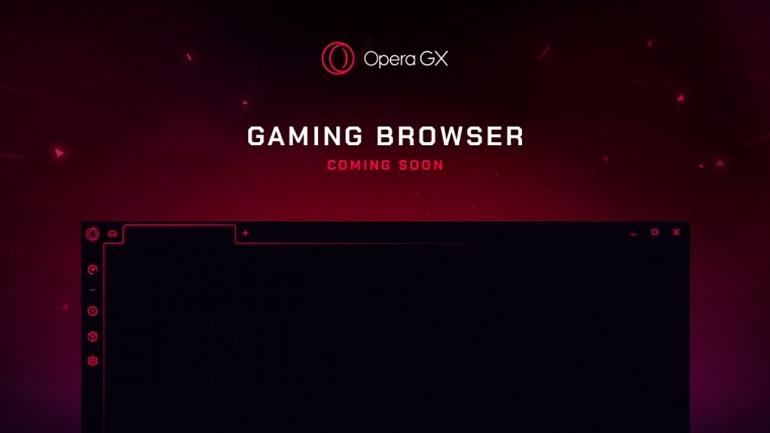 Opera presenta su nuevo navegador web para gamers