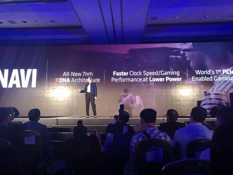 AMD presenta la familia Navi en la Computex 2019
