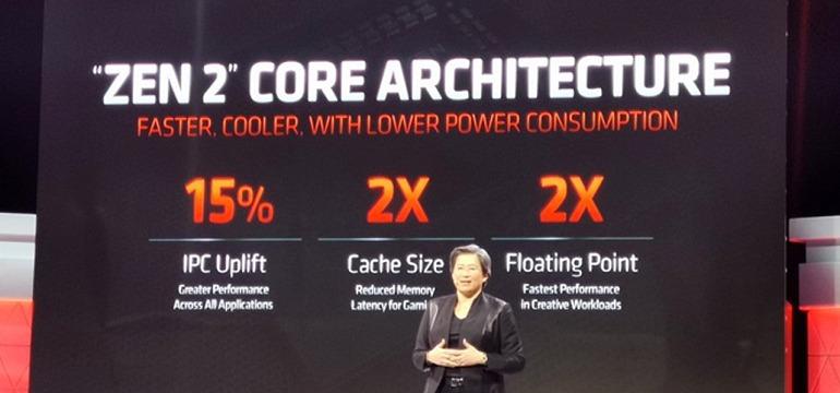 AMD comparó sus Ryzen 3000 con los Intel en igualdad de condiciones