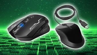 Ratones inalámbricos vs. Ratones con cable para jugar ¿Cuál es mejor?