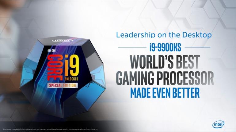 "El ""mejor procesador para jugar"", el Intel i9-9900KS, sale mañana"